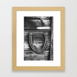 Lucky U Framed Art Print