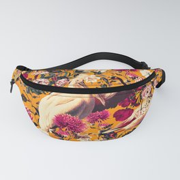 FLORAL AND BIRDS XVI Fanny Pack