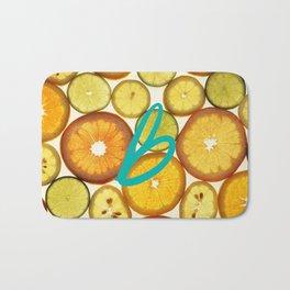 Citrus - Citron (Recettes du Bonheur) Bath Mat