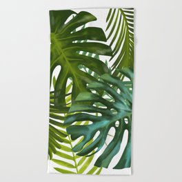 Palm and Monstra Beach Towel