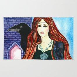 Faerie Crow Rug
