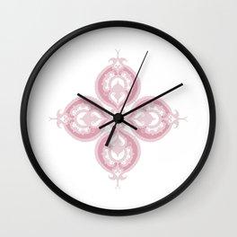 Indian Flower Wall Clock