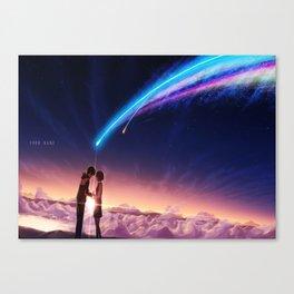 Kimi no nawa good Canvas Print