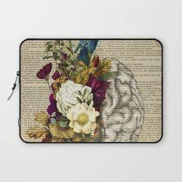 medical floral brain Laptop Sleeve