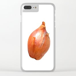 Shallot Clear iPhone Case