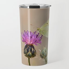 Clouded Yellow Butterfly Travel Mug