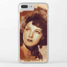 Jean Parker, Movie Legend Clear iPhone Case