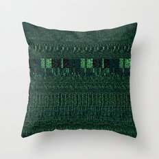 Glitch Throw Pillow