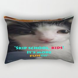 Sophia The Cat # 4 [Tex's Owner] Rectangular Pillow