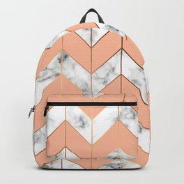 Marble Geometry 058 Backpack