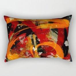 Into the dragon abstract  art Rectangular Pillow