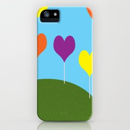 Happy Trees - Spring iPhone Case