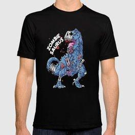 Zombie Saurus T shirt Halloween Kids Dinonsaur T rex Gifts T-shirt