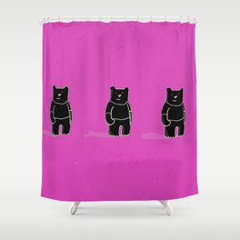 Cute! Bears, bears, bears! Shower Curtain
