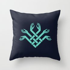 FATED : The Silent Oath - Symbol Throw Pillow