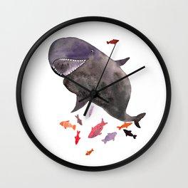 False killer whale Wall Clock