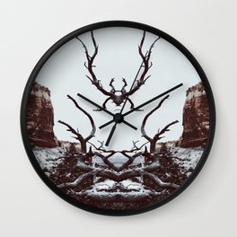 : canyon spirit : Wall Clock