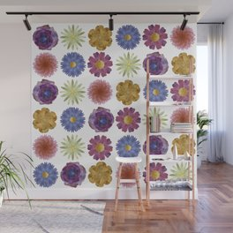 For Her ! Flowers Wall Mural