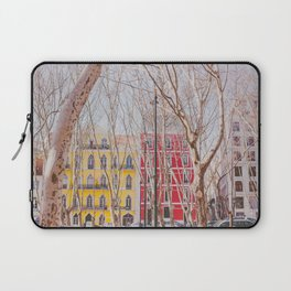 Colourful Street Laptop Sleeve