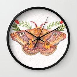 Hawk Moth Wall Clock