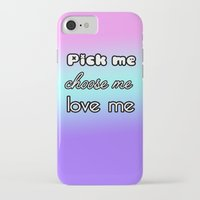 greys anatomy iPhone & iPod Cases featuring Pick me. Choose me. Love me. Greys Anatomy by QueenOfAwesome95