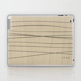 Smooth Stripes Laptop & iPad Skin