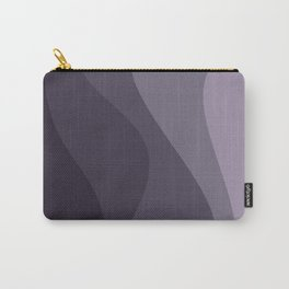 Abstract Color Waves - Purple Palette Carry-All Pouch