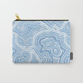 Blue Lace Agate Carry-All Pouch