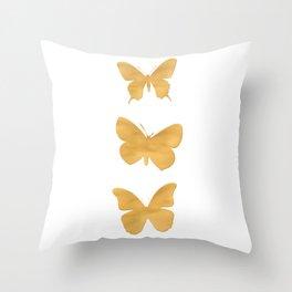 A Study in Flight Throw Pillow