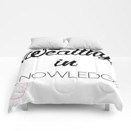 WEALTHY Comforters