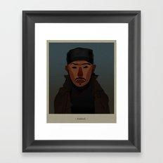 Omar comin'... Framed Art Print