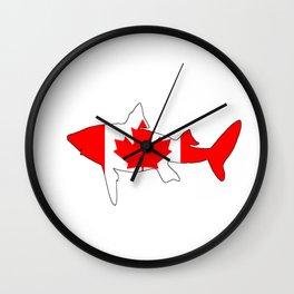 Shark Canada Wall Clock