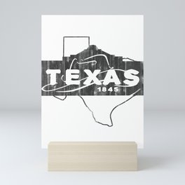 Texas State Mini Art Print