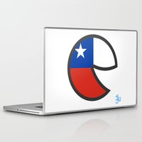 chile Laptop & iPad Skins featuring Chile Smile by onejyoo