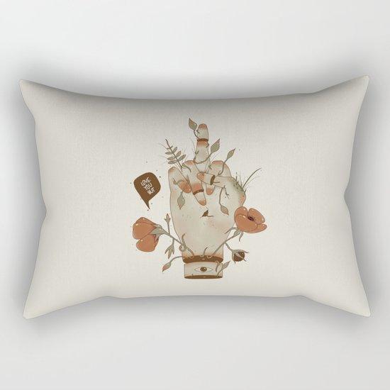 Love you but... Rectangular Pillow