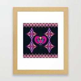 Egyptian Scarab Beetle Framed Art Print