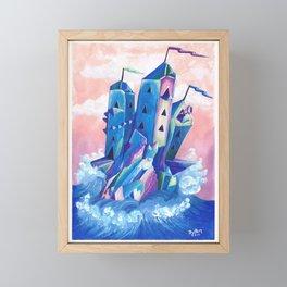 Crystal Castle by Mary Bottom Framed Mini Art Print