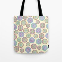 zentangle Tote Bags featuring zentangle by Alapapaju
