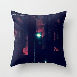 Lights of Bradford St Manipulation 2.0 Throw Pillow