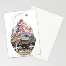 Base Camp - Himalayan Mountain Tent Village Stationery Cards