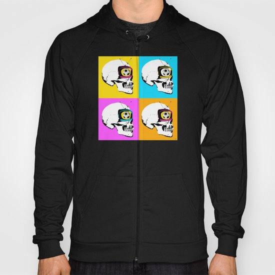 Football Mind - a round thing in the TV eye 4x Hoody