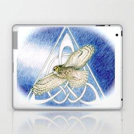 Great Horned Owl soft framed Laptop & iPad Skin