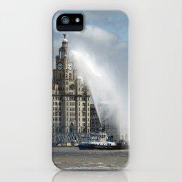 Liverpool Liver Building iPhone Case