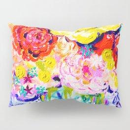 My Best Friend's Flowers Pillow Sham