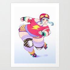 Bomba Art Print