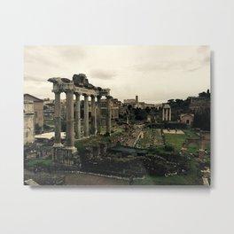 City Center of Rome Metal Print