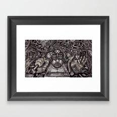 Raw Data (Still Frame 2) Framed Art Print