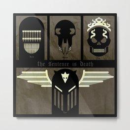 The Dark Judges Metal Print