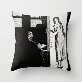 Somnambulism Throw Pillow