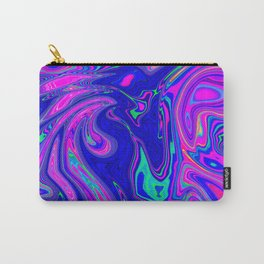 Colorful Oil Spill Pattern Carry-All Pouch
